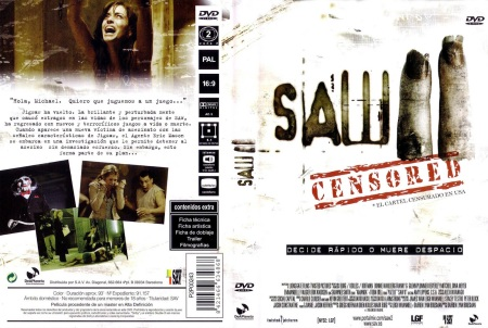 Saw II DVD