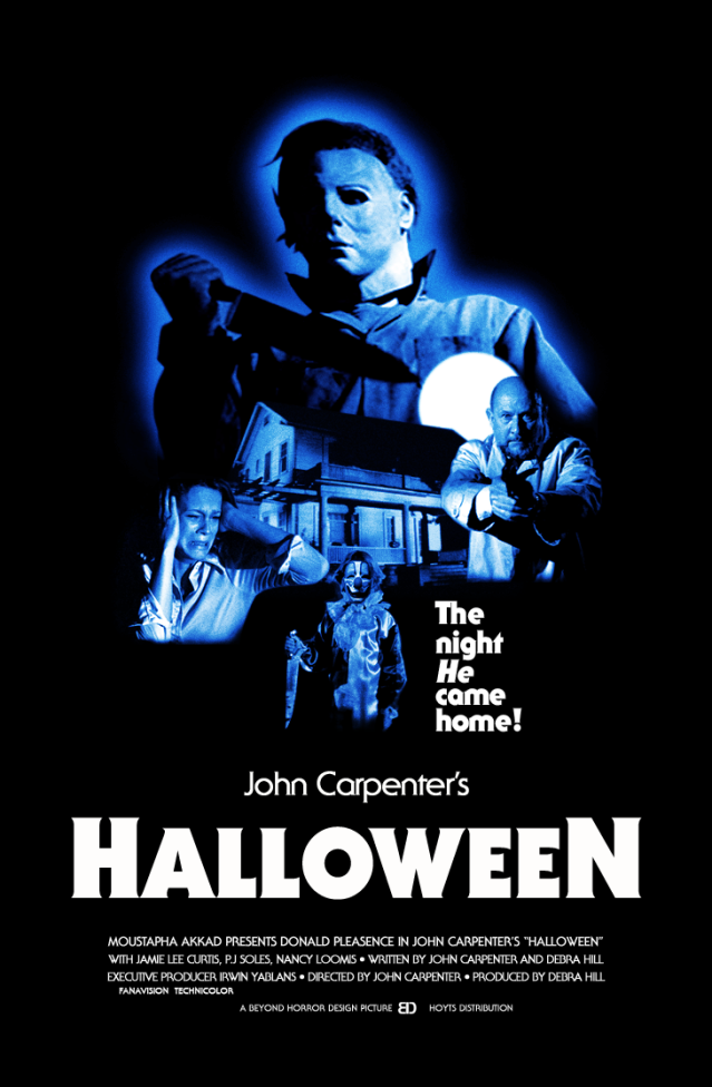 John Carpenters HALLOWEEN 1978 v1 Beyond Horror Design