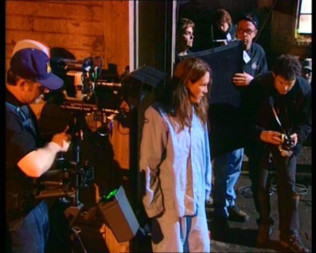 Halloween Resurrection Rick Rosenthal Jamie Lee Curtis 2002 Making of (5)