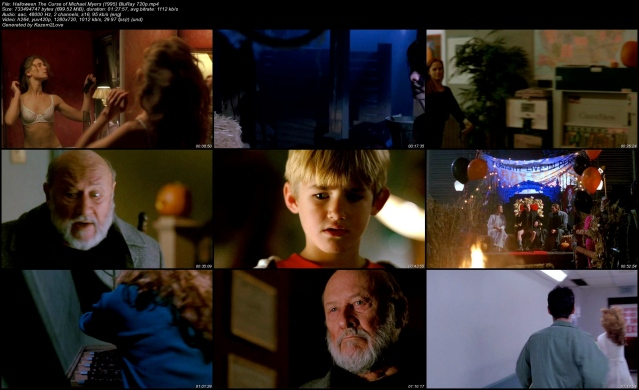 Halloween The Curse of Michael Myers (1995) BluRay 720p