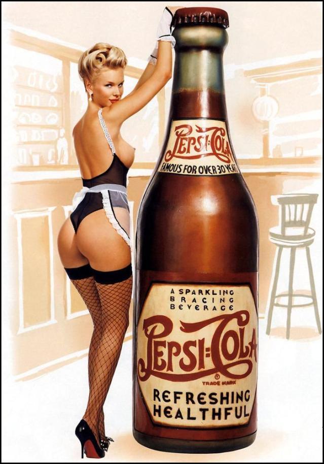 Pepsi-Cola (Sexy_Vintage_Ad)