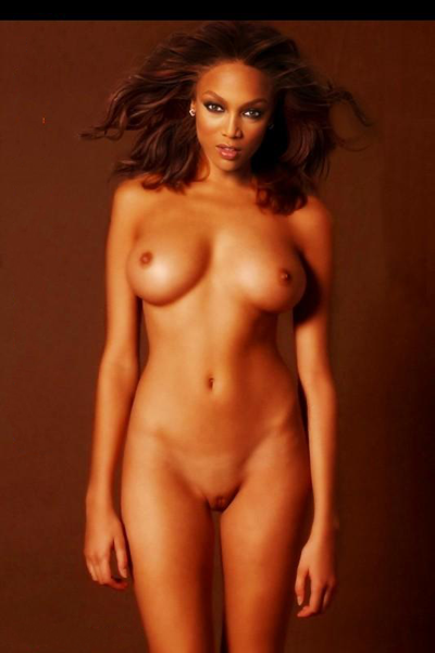 tyra banks shaved pussy and big boobs