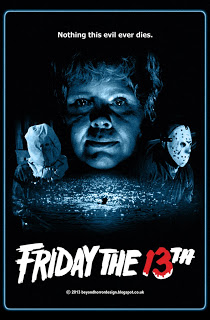 FRIDAY THE 13TH POSTER BY BEYOND HORROR DESIGN