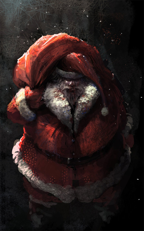 5-dark-scary-santa-claus-christmas-artworks-illustrations