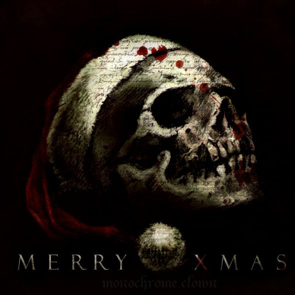 the_christmas_skull_by_Monochrome_Clown