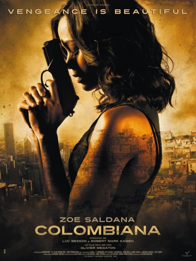 Colombiana Film Poster