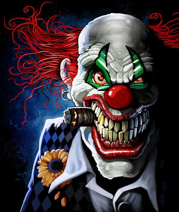 evil-clowny