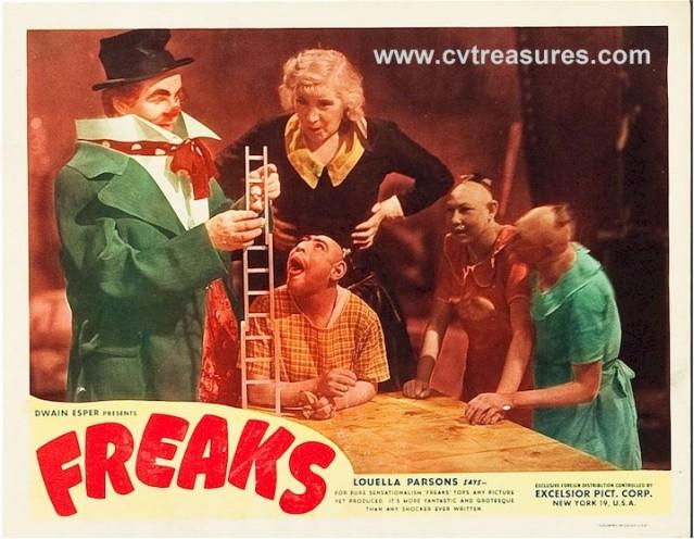 Freaks-lobby-card-clown-group